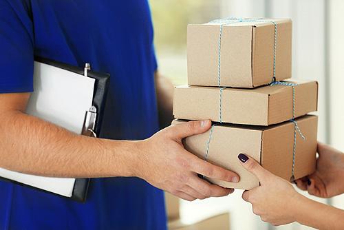 Wenn Ihre Bestellung Einen Bestimmten Umfang Nicht überschreitet, Senden  Wir Sie Ihnen In Einem Paket. Und Das übergeben Wir Ihnen An Ihrer Haus   Oder ...