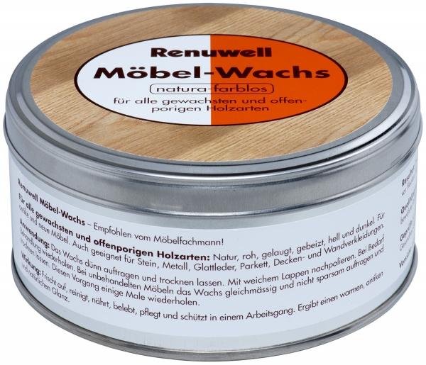 RENUWELL Möbel - Wachs natura-farblos 500ml